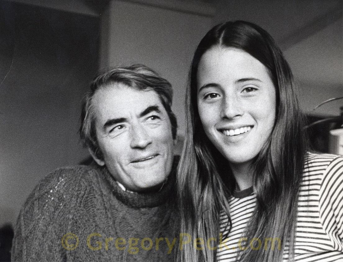With Cecilia Peck