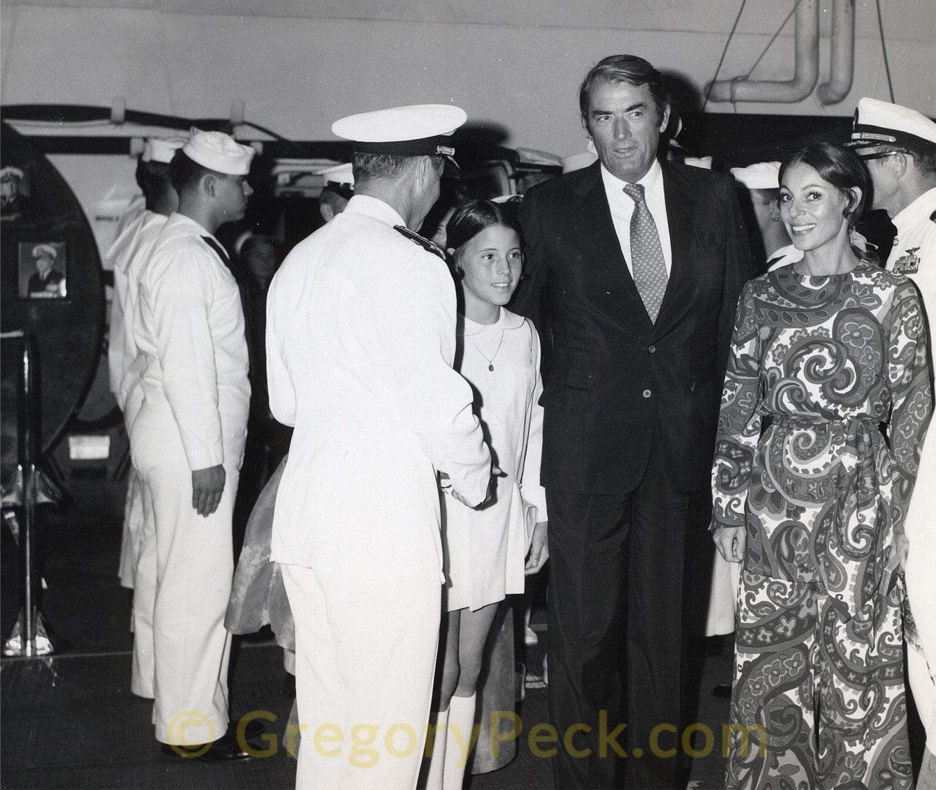 1970 Aboard USS JFK